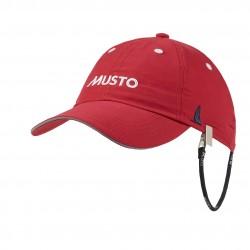 MUSTO Fast Dry Crew Cap Red